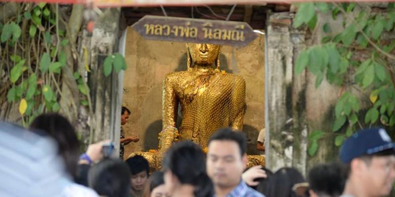 泰國一日遊行程 樹中廟 Wat Bang Kung 祈求身體健康 動物園、泰拳公園、戰機公園走馬看花