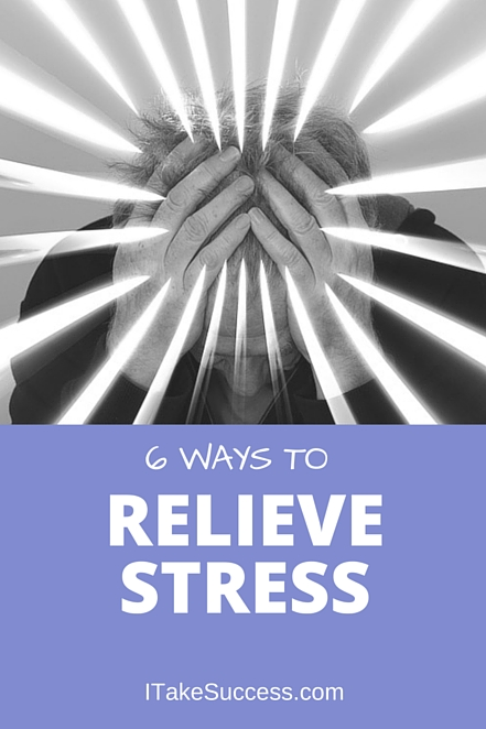 Does hair-pulling, shoulder-tensing stress have you wadded into a ticking time bomb? Diffuse that stress with these 6 easy tactics to relieve stress.