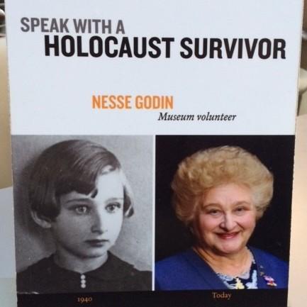 Nesse Godin, Holocaust Survivor