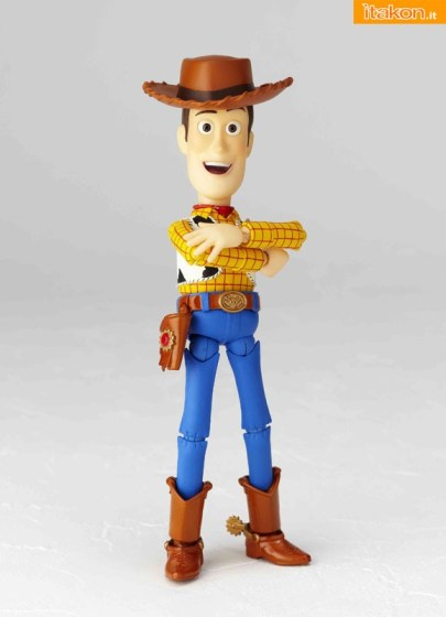 "Woody da ""Toy Story"" - Revoltech Pixar Collection vol. 005"