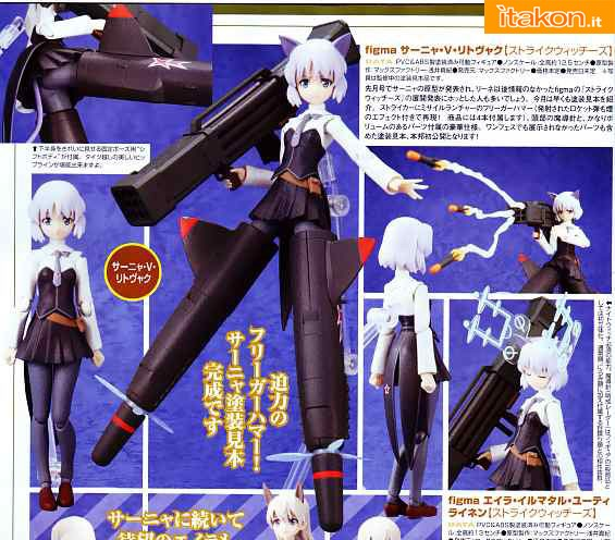 Strike Witches Sanya V Litvyak Figma Max Factory
