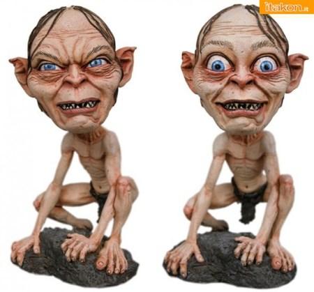 Gollum & Smeagol HeadKnockers da Neca - Immagini Ufficiali