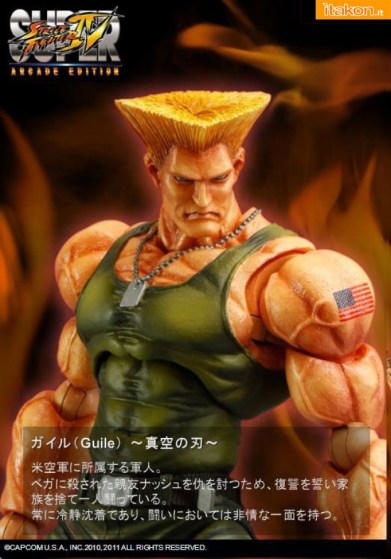 Play Arts Kai: Guile e Ibuki da Super Street Fighter IV - In Preordine