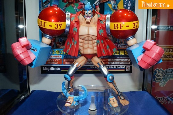 Megahouse - One Piece - Franky new world