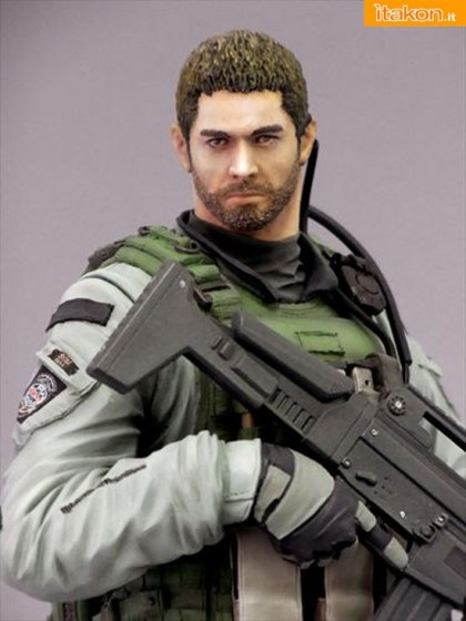 chris redfield - capcom - resident evil 6 5
