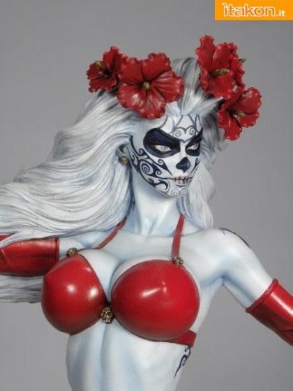 Lady Death La Muerta Statue di CS Moore Studio (13)