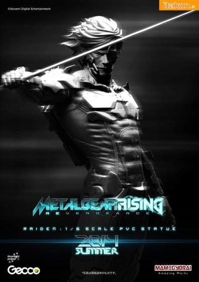 raiden - gecco - metal gear rising - foto promozionale - 1