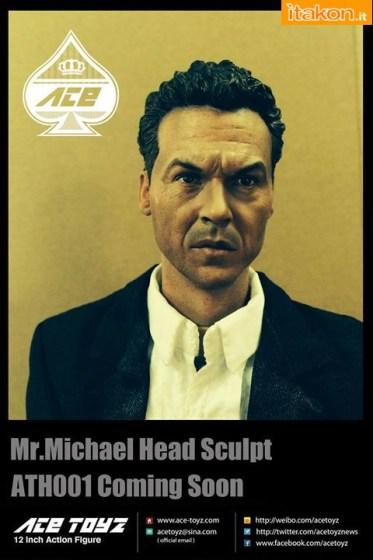 Ace Toyz: Michael Keaton da Batman 1989 - Nuova Foto