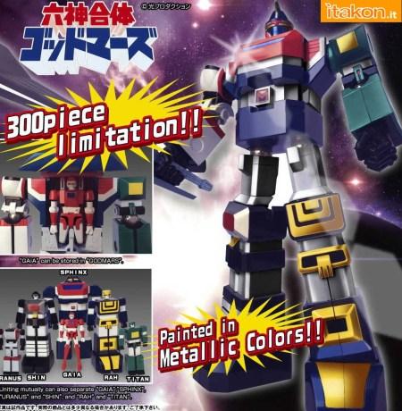 Evolution Toy:  Annunciato God Mars (Metallic Color Version) - Anteprima