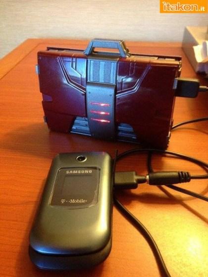 Iron Man 2:  Mark V Suitcase Mobile 1/4 scale di eFX - In Preordine