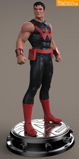Bowen Designs: Wonder Man statue - Nuovi Wip