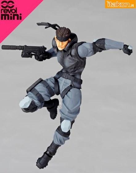 Solid Snake - Revolmini - Kaiyodo - foto ufficiali - 3