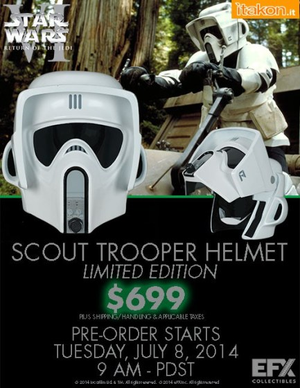 EFX Collectibles  Scout Trooper Helmets  (1)