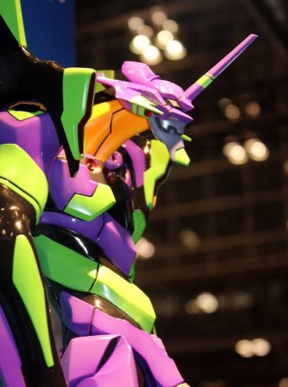 Eva-01 Mega Sofubi Advance - Evangelion - Kaiyodo WF2014S 20