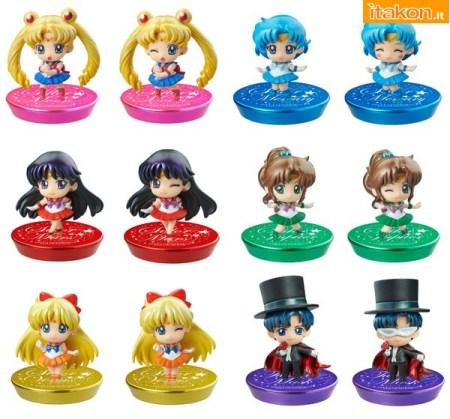 Sailor Moon Oshioki  box glitter ver megahouse
