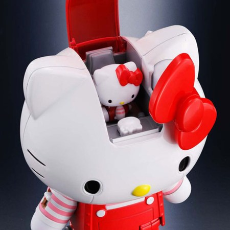 Hello Kitty Chogokin Blue & Striped 12