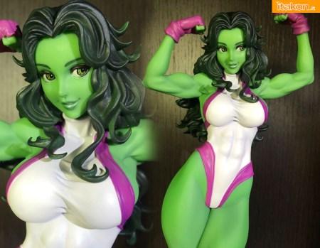 Recensione Bossborot - Marvel She Hulk - Kotobukiya - Foto 21
