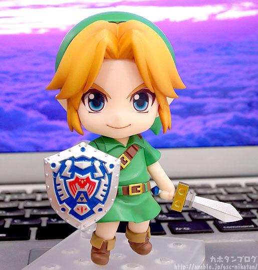 Nendoroid Link Majoras Mask 3D Legend of Zelda GSC photogallery 01