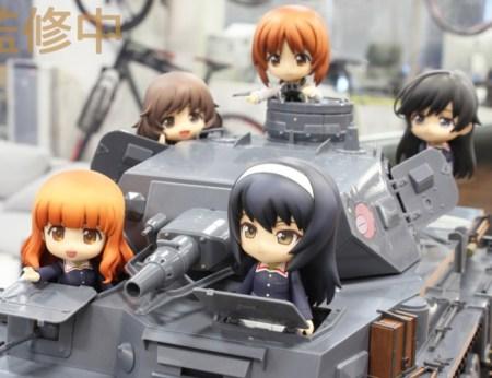 Girls und Panzer Nendoroid GSC Max Factory Veichle gallery 20