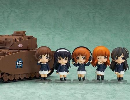 Girls und Panzer Nendoroid More Panzer IV Ausf D Spec GSC pre 20