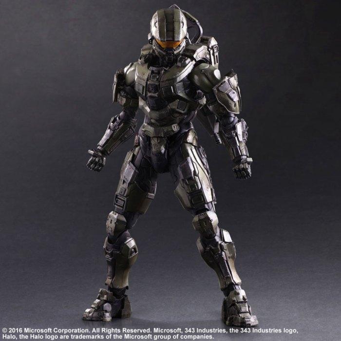 Halo 5 Guardians Master Chief - Play Arts Kai Square Enix pre 01