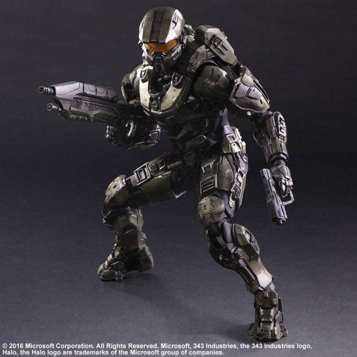 Halo 5 Guardians Master Chief - Play Arts Kai Square Enix pre 05