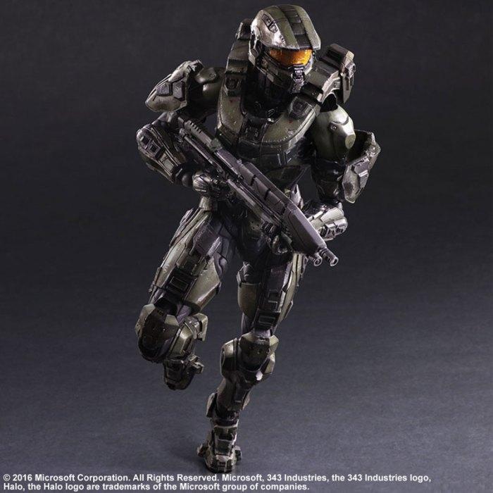 Halo 5 Guardians Master Chief - Play Arts Kai Square Enix pre 06