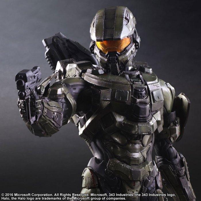 Halo 5 Guardians Master Chief - Play Arts Kai Square Enix pre 07