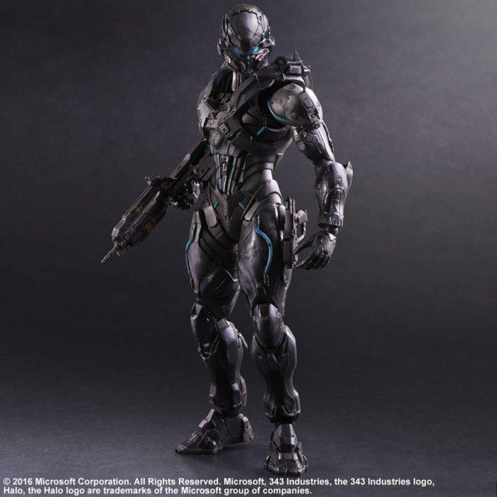 Halo 5 Guardians Spartan Locke - Play Arts Kai Square Enix pre 03