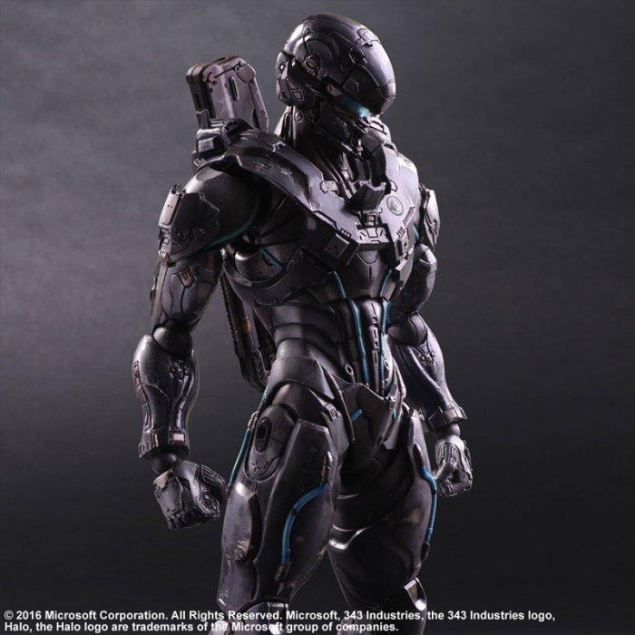 Halo 5 Guardians Spartan Locke - Play Arts Kai Square Enix pre 04