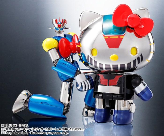 Mazinger Z Hello Kitty Chogokin Bandai pre 11