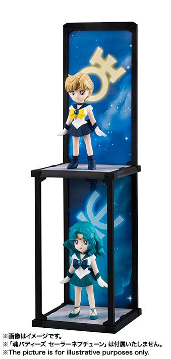 Sailor Uranus - Sailor Moon - Tamashii Buddies Bandai info 06