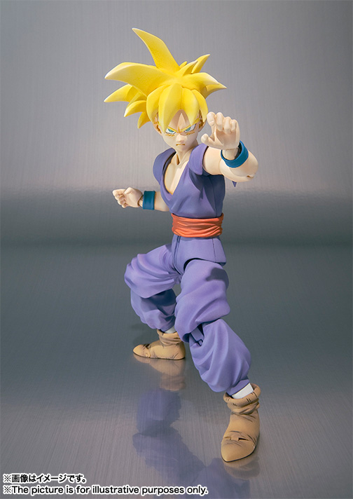 Son Gohan SH Figuarts - Dragon Ball - Bandai rerelease 03