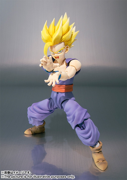 Son Gohan SH Figuarts - Dragon Ball - Bandai rerelease 04
