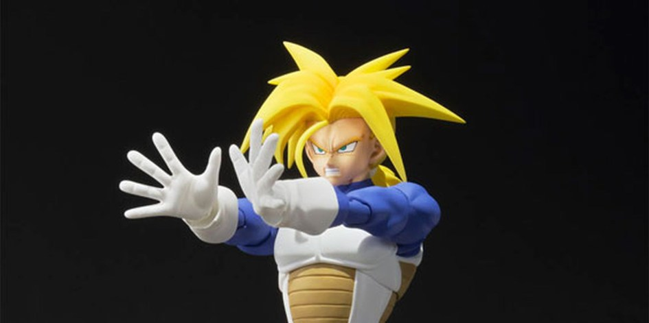 Super Saiyan Trunks S.H.Figuarts Bandai Itakon.it -0003