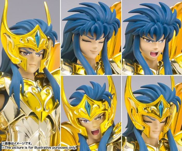 Aquarius Camus Myth Cloth EX di Bandai Immagini ufficiali Itakon.it -0005a