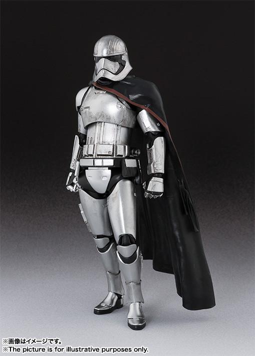 Captain Phasma SH Figuarts da ''Star Wars''