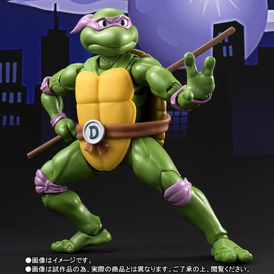 Donatello SH Figuarts - TMNT - Bandai pre 03