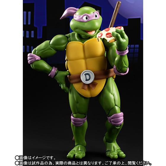 Donatello SH Figuarts - TMNT - Bandai pre 04