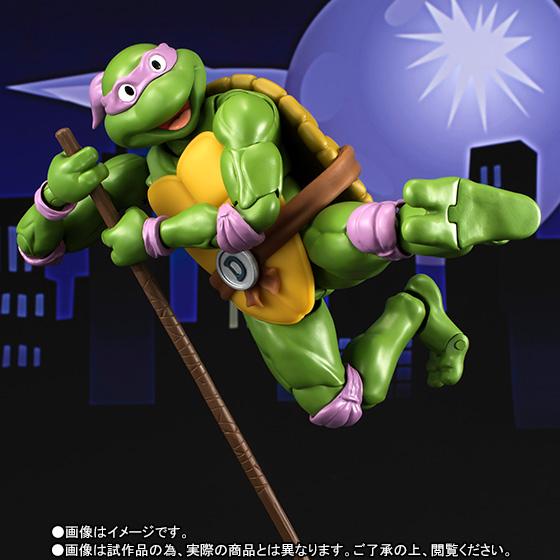 Donatello SH Figuarts - TMNT - Bandai pre 05