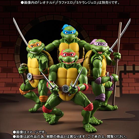 Donatello SH Figuarts - TMNT - Bandai pre 08