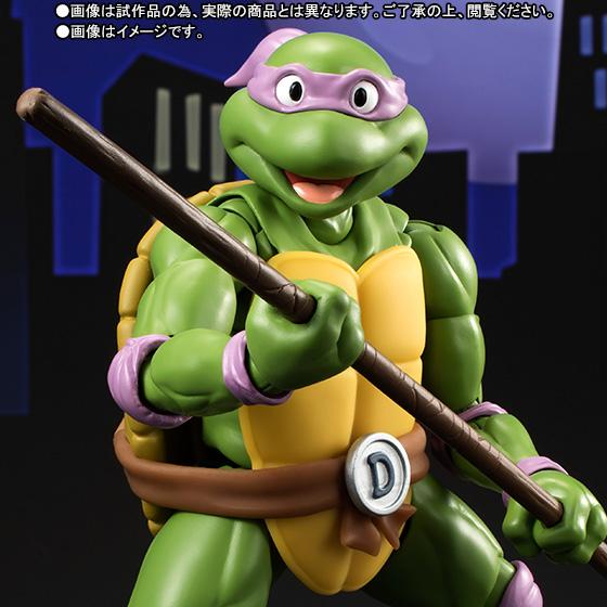 Donatello SH Figuarts - TMNT - Bandai pre 09