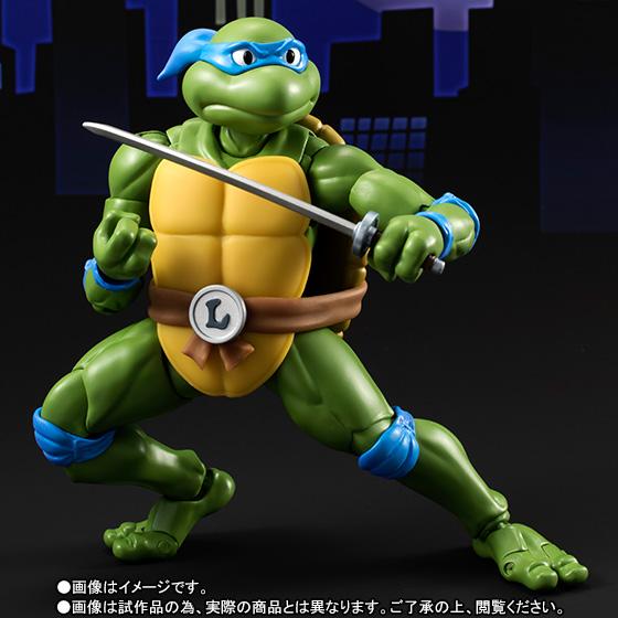 Leonardo SH Figuarts - TMNT - Bandai pre 02