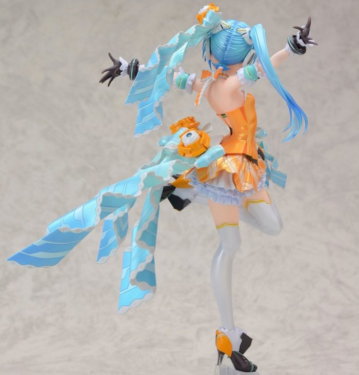 Miku Hatsune Orange Blossom - Vocaloid  - Max Factory proto 01