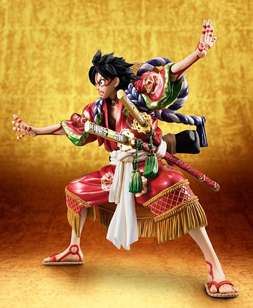 Monkey D Luffy Kabuki POP - One Piece MegaHouse pre 02