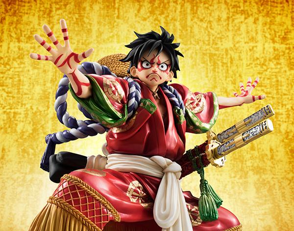 Monkey D Luffy Kabuki POP - One Piece MegaHouse pre 12