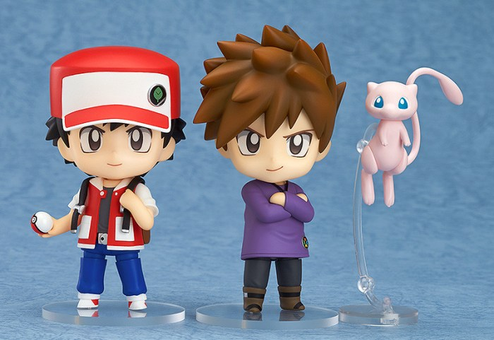 Nendoroid Pokémon Trainer Red & Green GSC pre 01