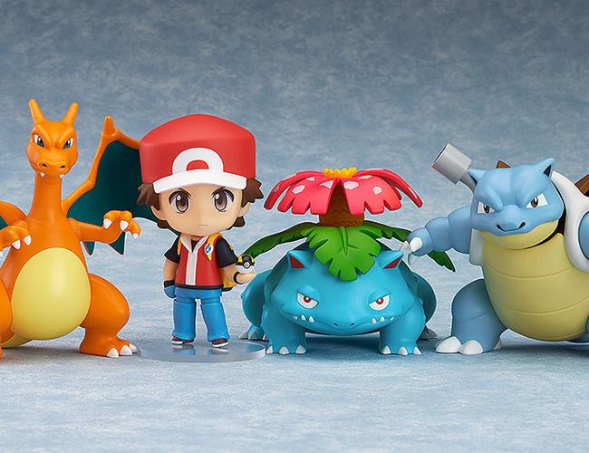 Nendoroid Pokemon Trainer Red Champion Ver GSC pre 20