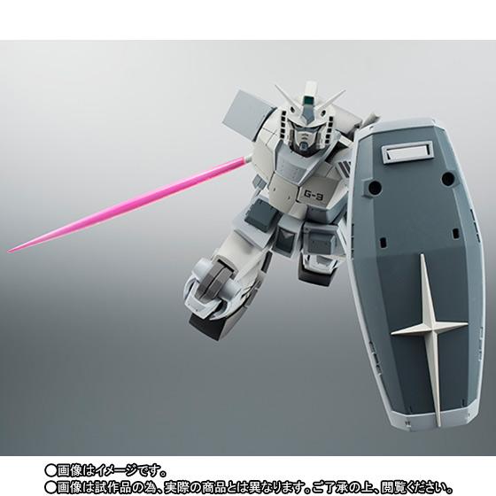 Gundam RX-78-3 G-3 ver. A.N.I.M.E. ROBOT SPIRITS SIDE MS Bandai Itakon.it -0005