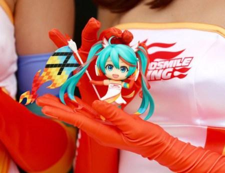 Miku Hatsune Racing 2016 Nendoroid foto colorato 20